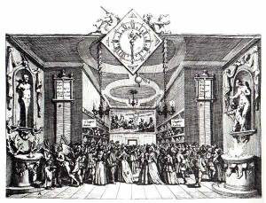 Hogarth - Masquerade Ticket (1727)