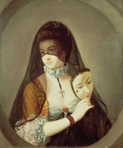 Henry Robert Morland, The Fair Nun Unmasked, c. 1769