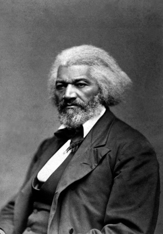Frederick Douglass; 1818 - 1895. Abolitionsit, author, diplomat.
