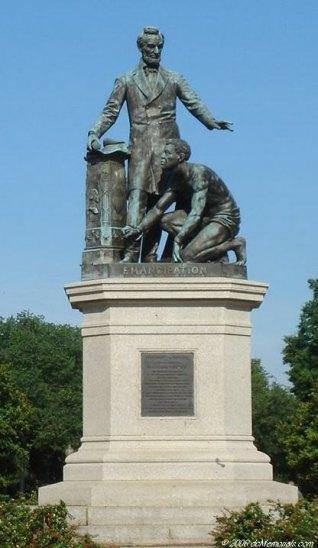 Emancipation Memorial 1876