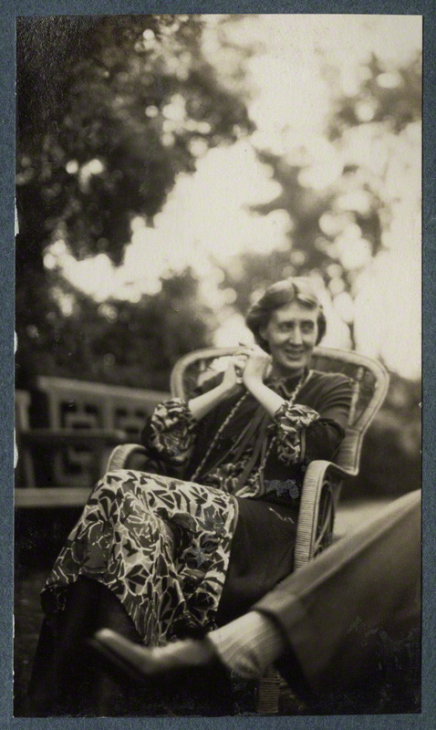 Virginia Woolf by Lady Ottoline Morrell (1926)